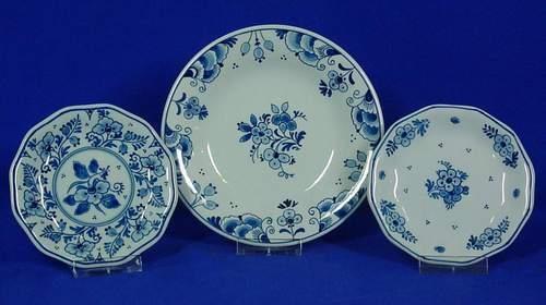 Bonbon dishes Royal Delft Blue & Galleria D\u0027arte Rinascimento - Delft Art and Antiques